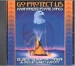 POMANI BLACK FOX :  GO PROTECT US - HARMONIZED PEYOTE SONGS  (CANYON)  Emissione dedicata alle 'Harmonized Peyote Songs', le tipiche musiche percussive con il canto dei Nativi americani utilizzate dagli sciamani per aiutare l'ascoltatore nella sua ricerca spirituale durante la cerimonia del peyote.